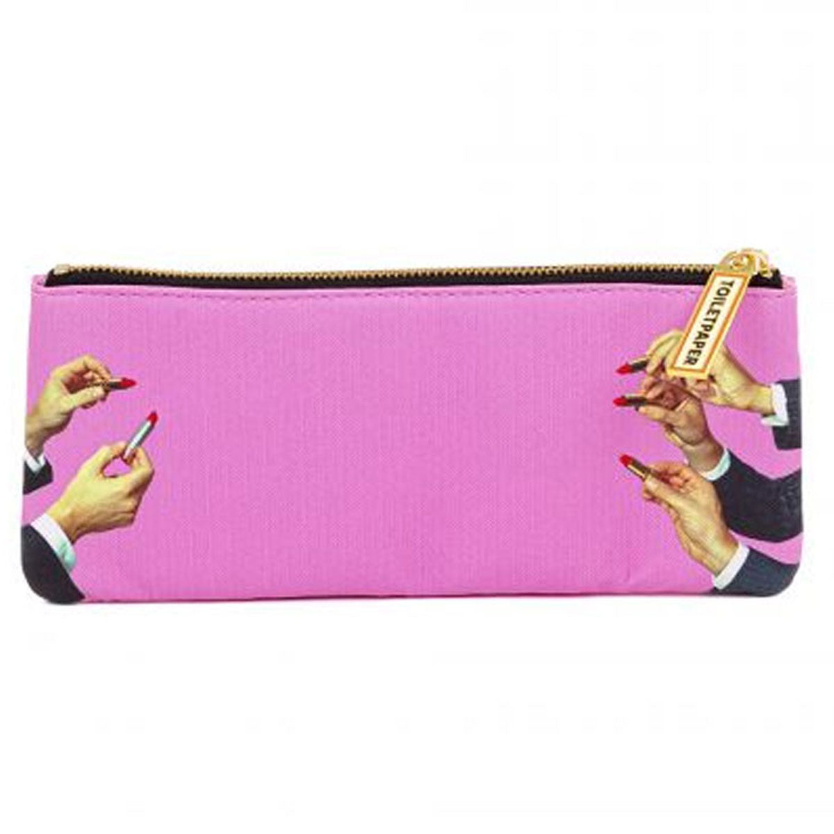 Pencil Case 'Pink Lipsticks'