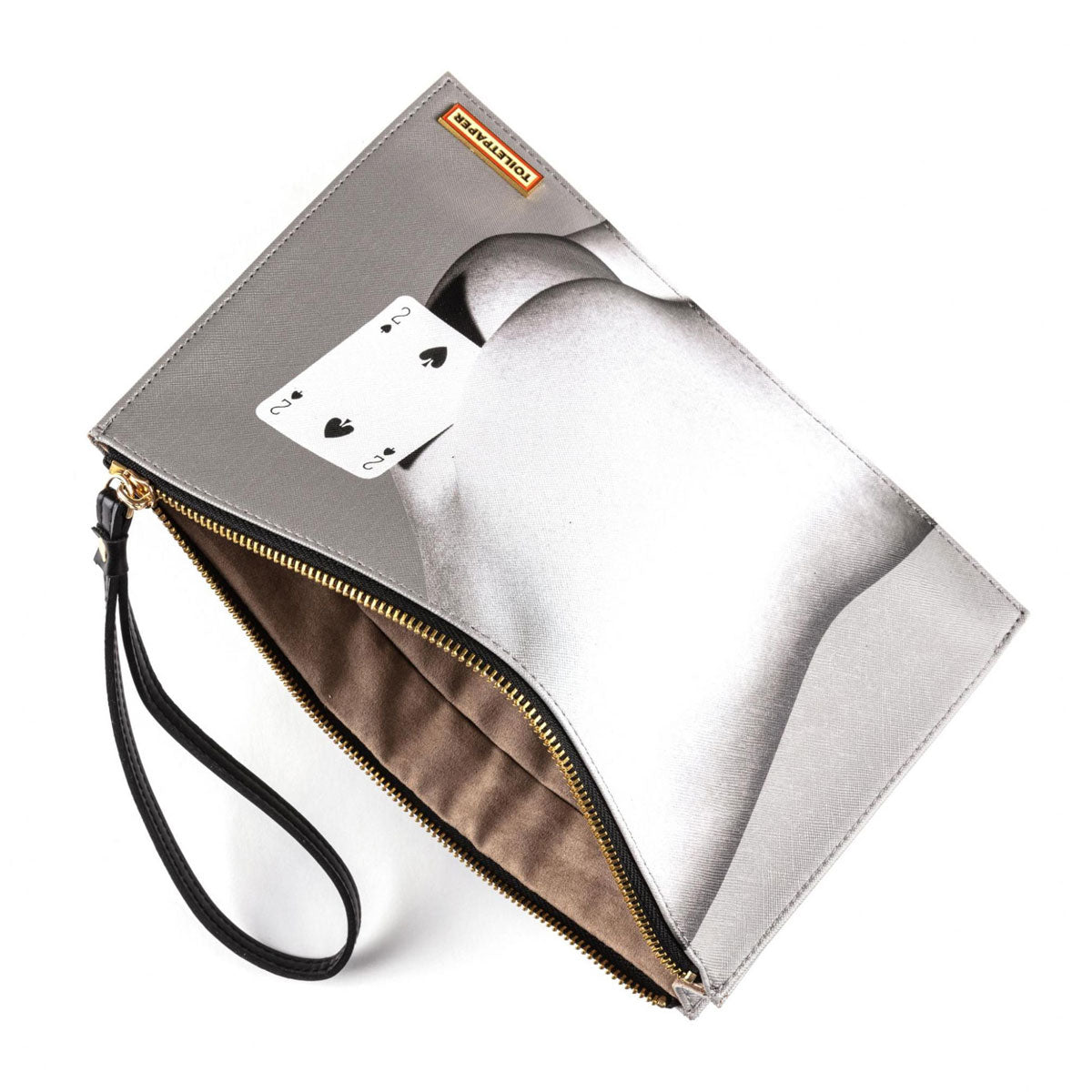 Seletti X Toiletpaper Two of Spades Hand Bag