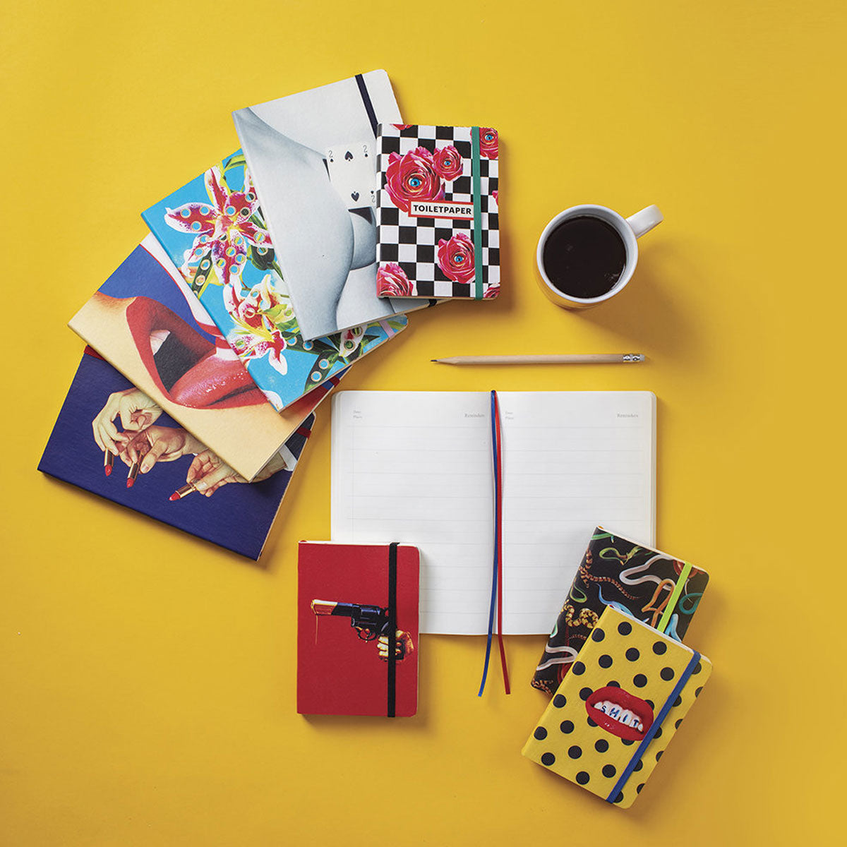 Seletti X Toiletpaper Two of Spades Notebook Large