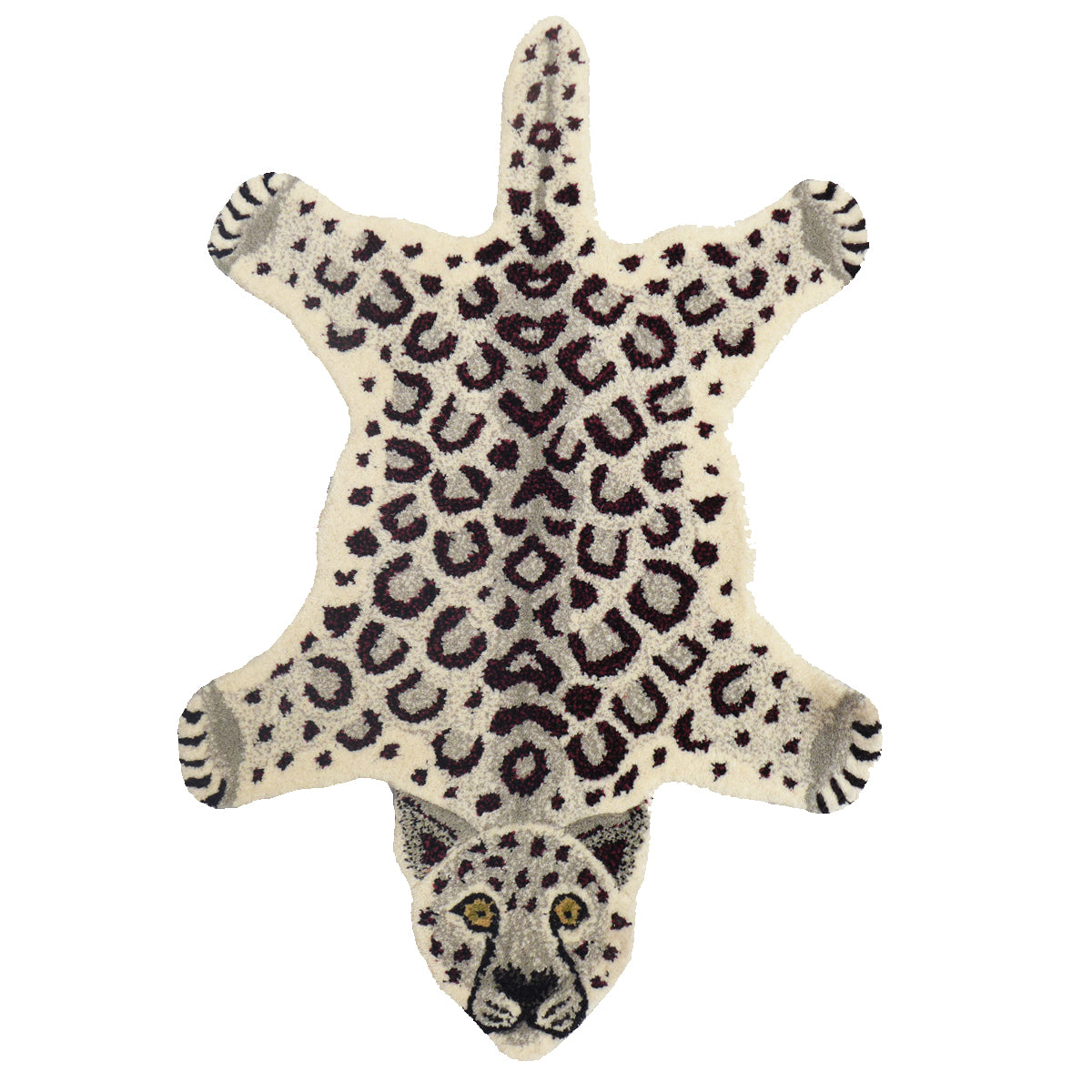Snow Leopard Rug Small