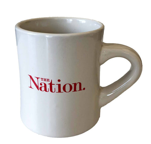 The Nation Logo Diner Mug