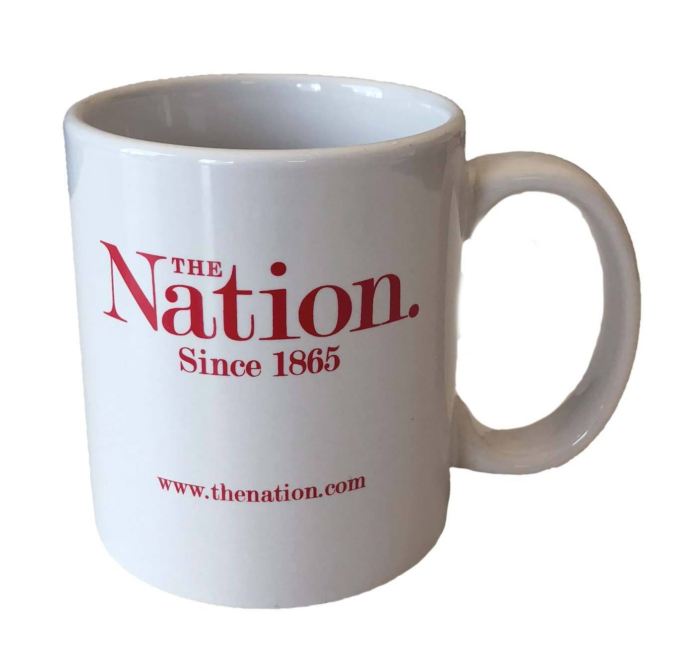 The Nation Logo Mug in White