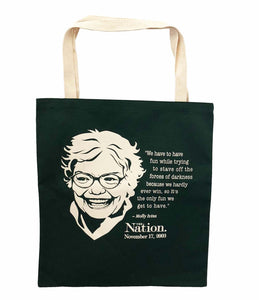 Molly Ivins Tote Bag
