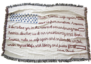 """Incantation for America"" Limited Edition Throw"