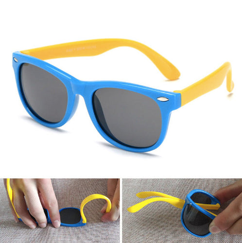 Kids Sunglasses-  100% UV400 Polarized & Bendable