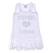 Load image into Gallery viewer, Too Cute Fringe Tee
