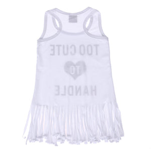 Too Cute Fringe Tee