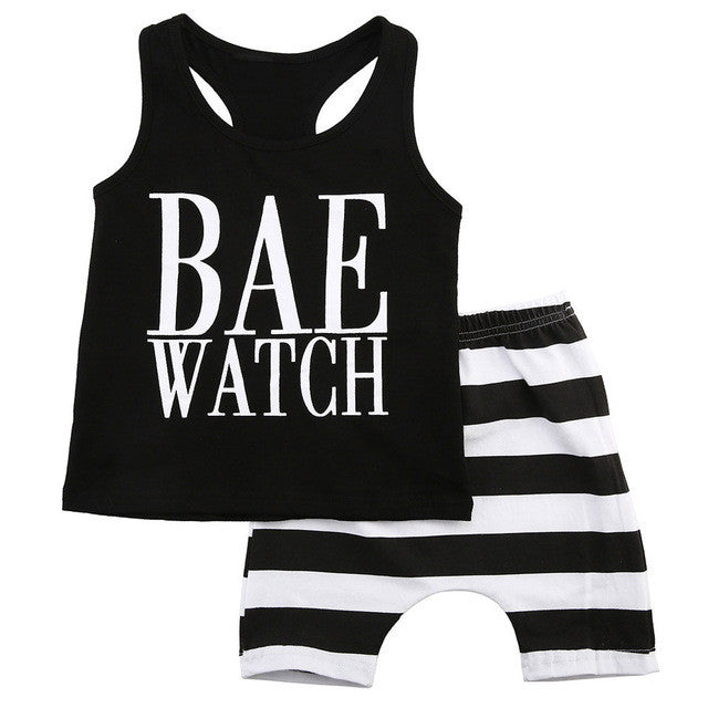 Bae Watch Outfit Set