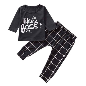 Like a Boss T-shirts + Pants Set