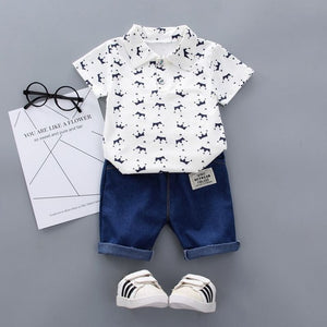 King Shirt Set