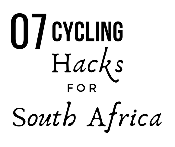 Cycling Hacks for South Africa