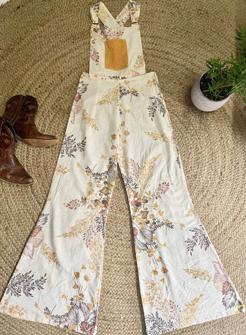 Flared overalls ~ Native