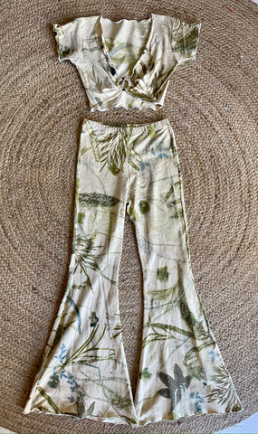 Hemp Flares ~ Botanical