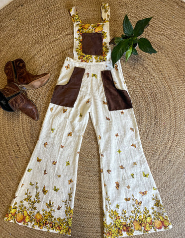 Flared overalls - Pears
