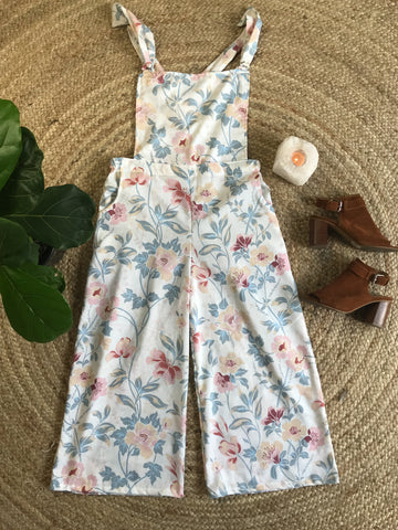 Cropped Overalls ~ Lily