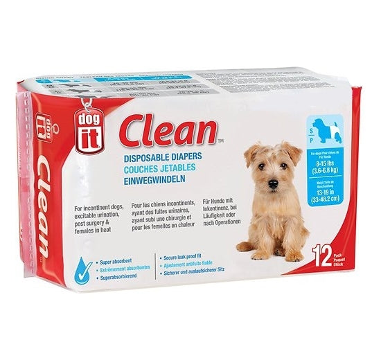 CLEAN DISPOSABLE DIAPER SMALL