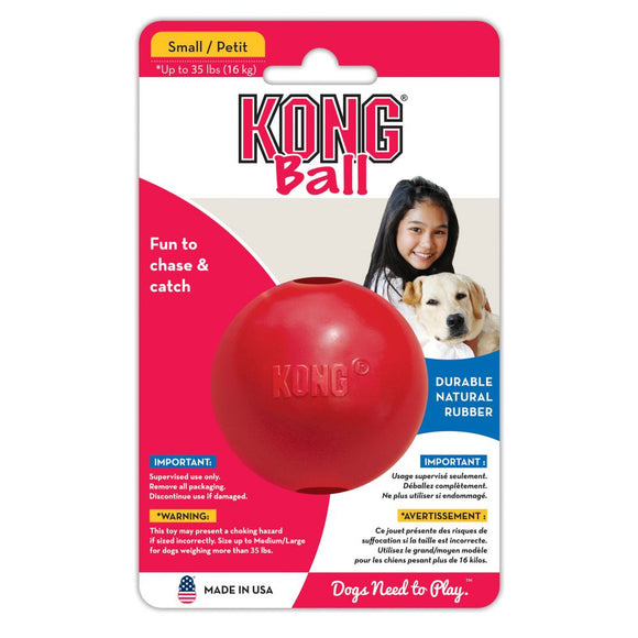 KONG SOLID BALL MED
