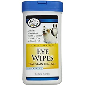 F/PAWS EYE WIPES 25CT