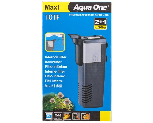 AQUA ONE 101F MAXI INT FILTER 400L/HR