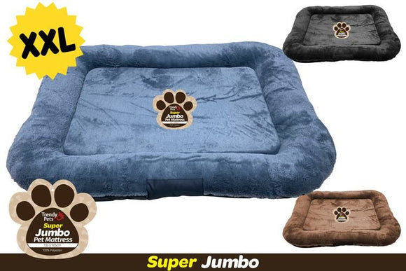 JUMBO PET MAT ASST. COLOURS 135X105CM XXL