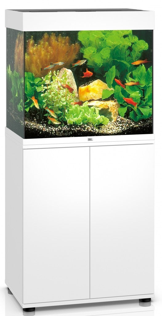 JUWEL LIDO 120 LED AQUARIUM & STAND - WHITE