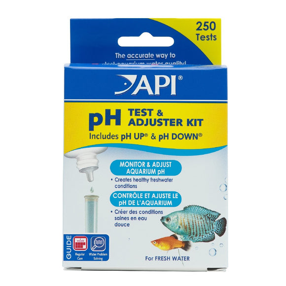 DELUXE P.H TEST KIT WITH LIQUID ADJUSTER