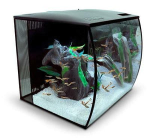 FLUVAL FLEX AQUARIUM UNIT 34LTR BLACK