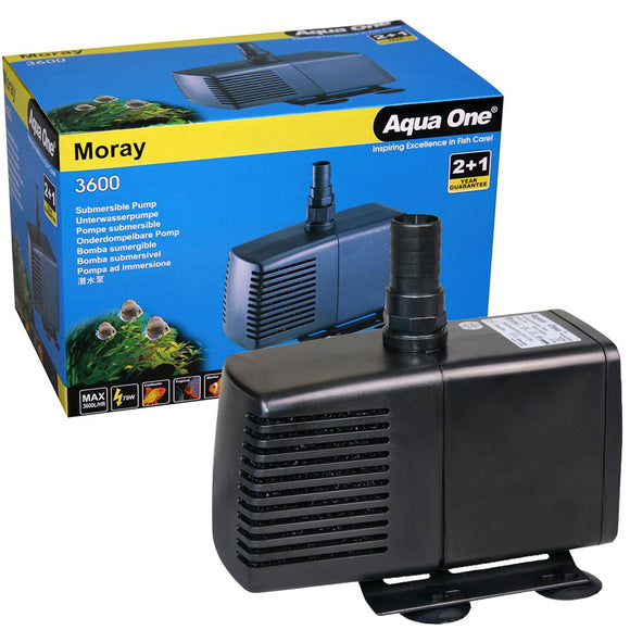 AQUA ONE MORAY 3600L PUMP