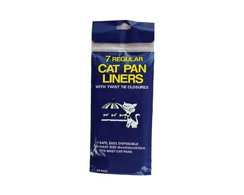 KITTY PAN LINER PKT 7 - REGULAR