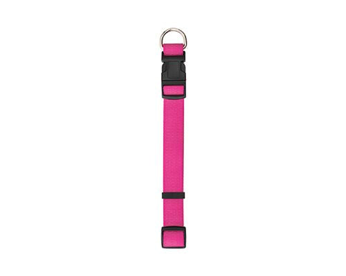 COLLAR NYLON PINK 25MM