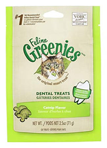 GREENIES FELINE CATNIP 71G