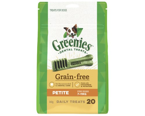 GREENIES TREAT-PAK G/FREE 340G PETITE
