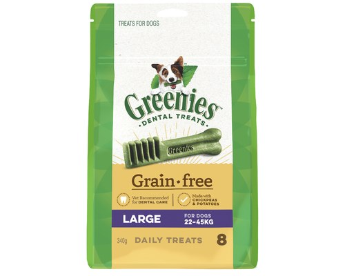 GREENIES TREAT-PAK G/FREE 340G LARGE