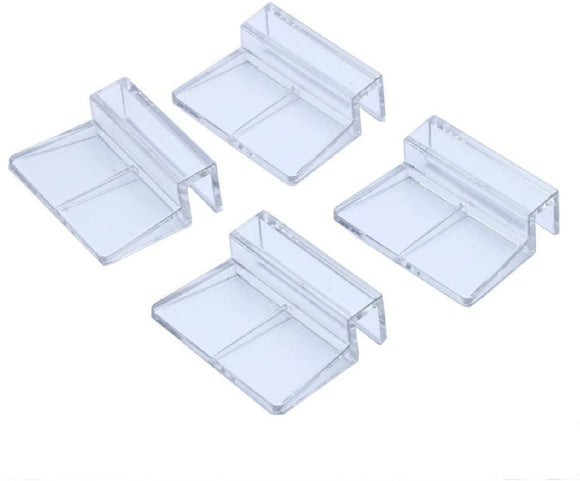 FISH TANK COVER MOUNT CLIPS PACK 4 10MM