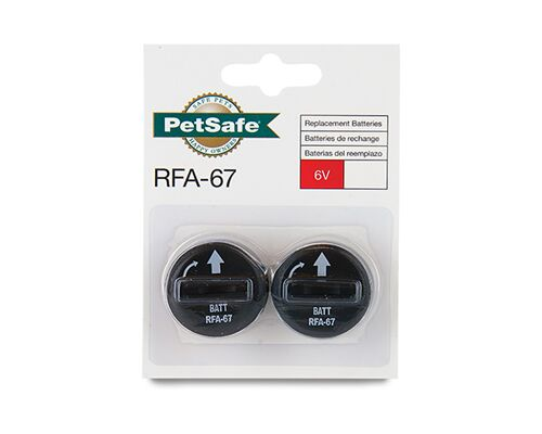 PETSAFE BATTERY RFA-67 2PK