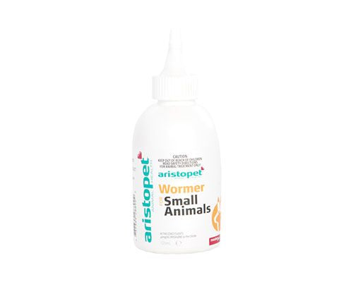 SMALL ANIMAL WORMER - 125ML