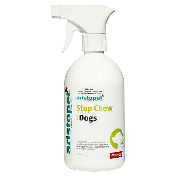 A/PET STOP CHEW 500ML