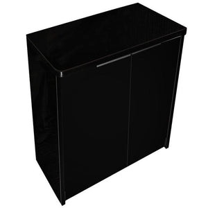 AQUA ONE LIFESTYLE 190 CABINET GLOSS BLACK STAND