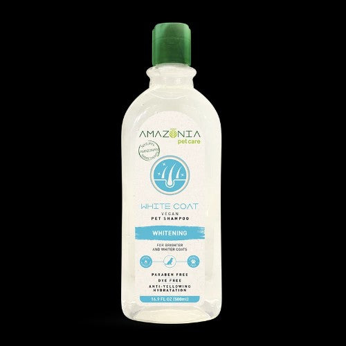 AMAZONIA SHAMPOO WHITE COAT 500ML
