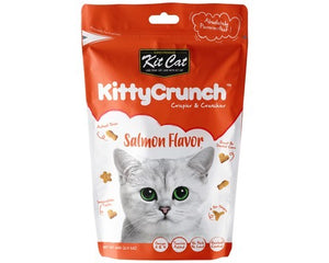 KIT CAT KITTY CRUNCH TREAT SALMON 60G