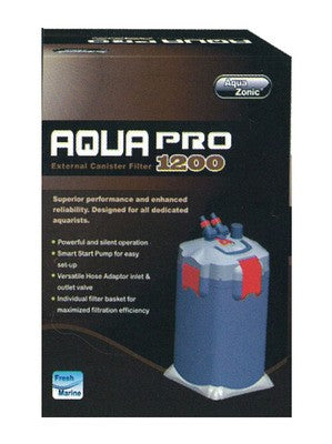 AQUA PRO CANISTER FILTER 1200 (1200LPH)