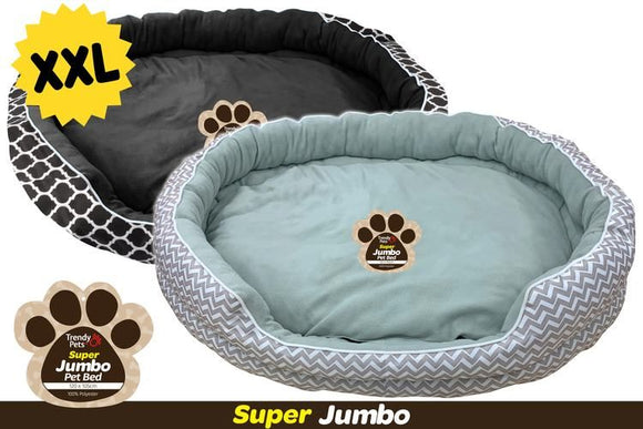 JUMBO PET BED OVAL 120X105X30CM XXL