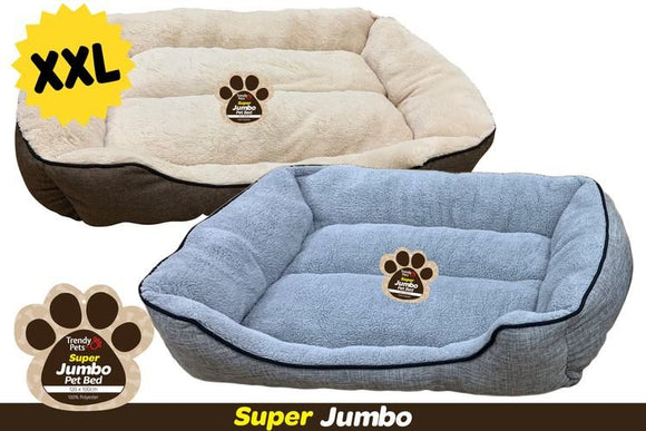 JUMBO PET BED 120X100X27CM XXL