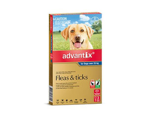 ADVANTIX FOR DOGS OVER 25KG 3 PK
