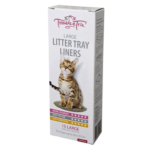 LITTER LINERS 15PK LARGE