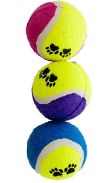 FETCH TENNIS BALL 3 PK
