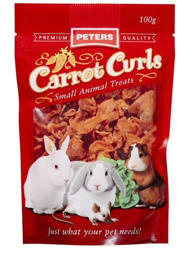 PETERS CARROT CURLS 100GMS