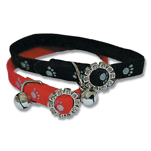 CAT COLLAR REFLECTIVE FLEECCE ASSORTED