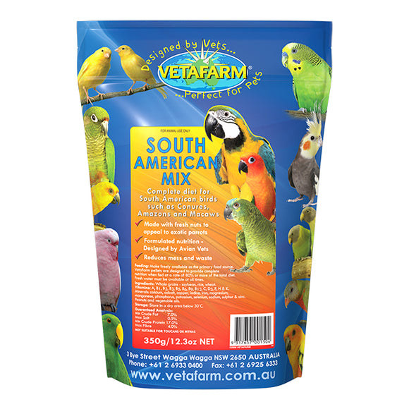 VETAFARM SOUTH AMERICAN MIX 350G