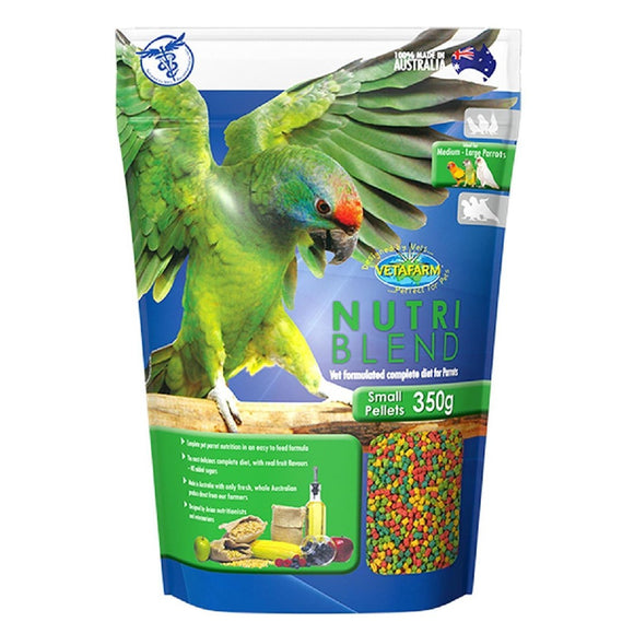 VETAFARM NUTRIBLEND PELLETS-SMALL-350G